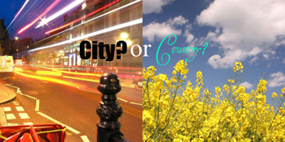 city life vs village life pdf
