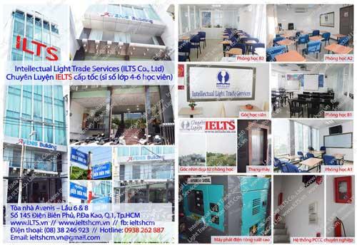 Trung tâm IELTSHCM - Chuyên luyện thi IELTS cấp tốc ở tpHCM