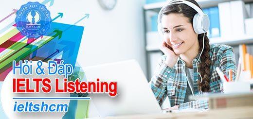 kỹ năng nghe trong IELTS